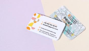 Печать визиток в оперативной полиграфии PrintStudio