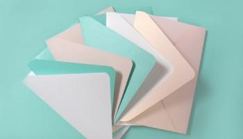 Заказать конверты из дизайнерского картона в Киеве