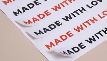 Печать наклеек в оперативной полиграфии «PRINTSTUDIO»