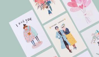 Оперативная печать открыток в полиграфии «PRINTSTUDIO»