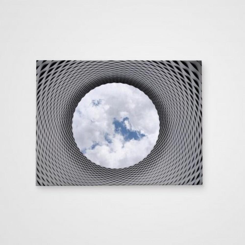 Холст Архитектура в небе