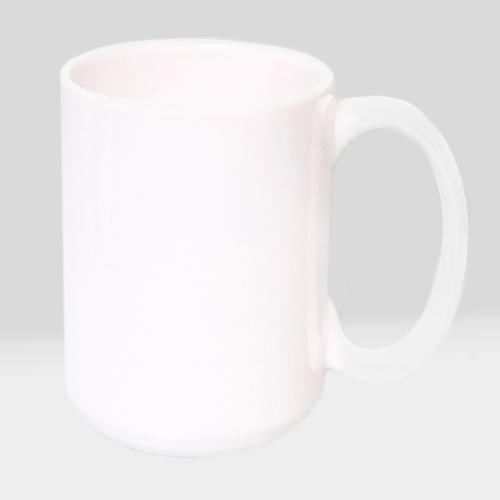 Белая чашка XL