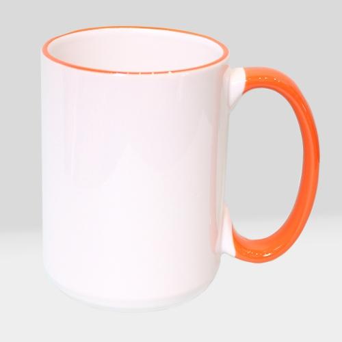 Чашка цветная XL