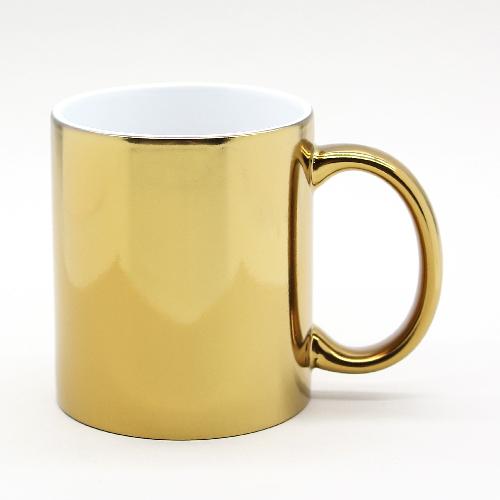Чашка под золото, 330 мл