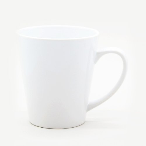Чашка белая ЛАТТЭ маленькая, 330 мл